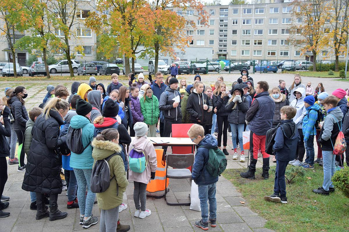 Vilniaus miesto moksleivių orientavimosi sporto varžybos 2020
